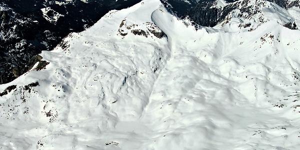 Muntejela de Senes, leichter Skiberg in den Dolomiten