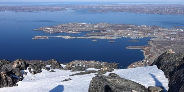 Summit of Ukkusissat. Photo by Jakob Abermann