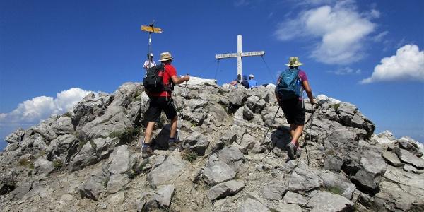 Augstenberg Gipfelkreuz