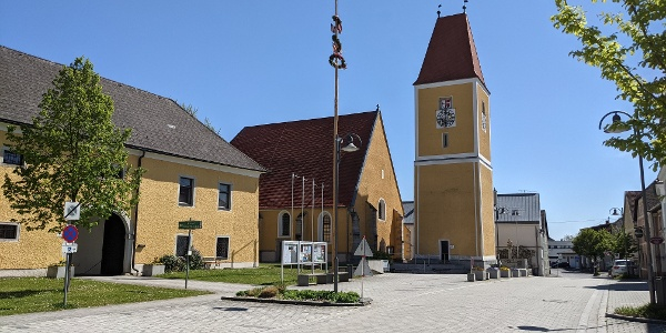 Marktplatz Feldkirchen an der Donau