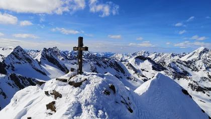 Gipfel Schaufelspitz