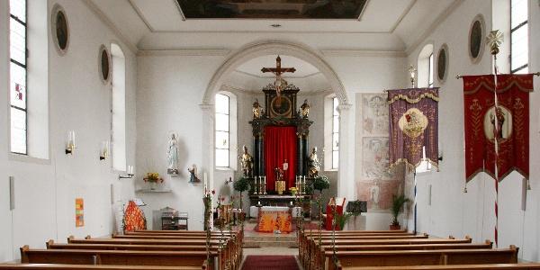 Hohenweiler, Katholische Pfarrkirche Heiliger Georg 1