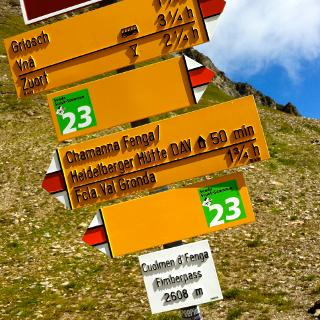 Firmbergpass 2608m