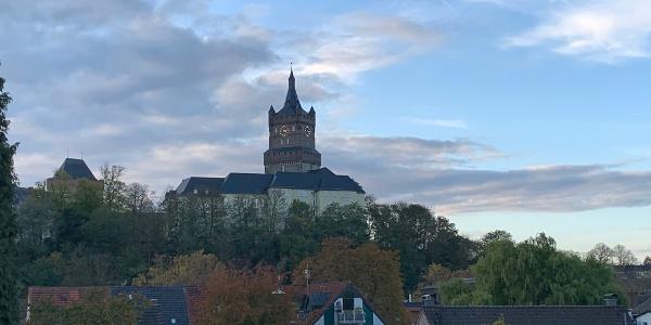 Schwanenburg aus Sicht Königsgarten