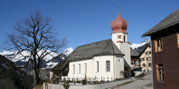 Raggal, Kuratienkirche Heilige Katharina