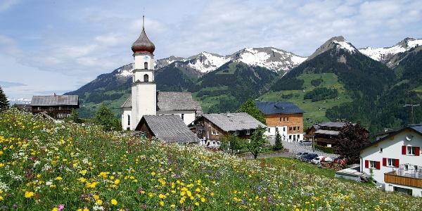 Raggal, Katholische Pfarrkirche Heiliger Nikolaus und Heiliger Theodul 4