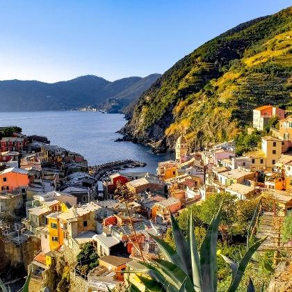 Die Cinque Terre: Monterosso, Vernazza, Corniglia, Manarola und Riomaggiore.