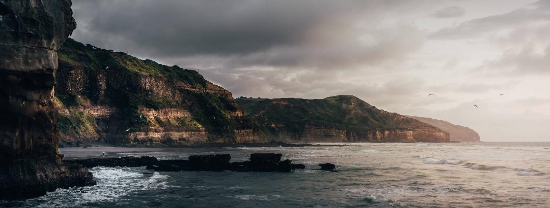 Küste in Neuseeland