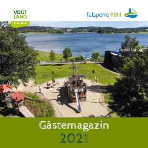 Cover Gästemagazin Talsperre Pöhl