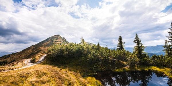 kleiner Bergsee am Grießenkar