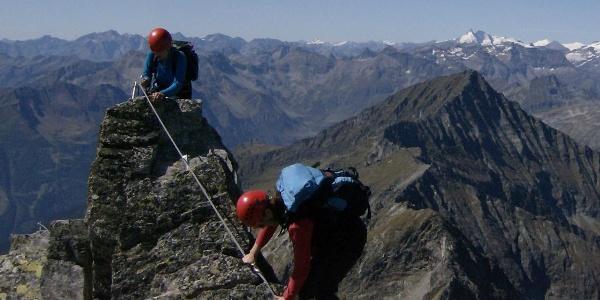 Am Säuleck-Südwand-Klettersteig