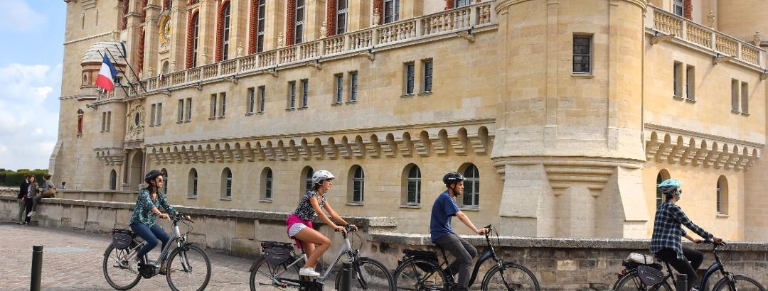 Autour du Château de Saint-Germain-en-Laye à vélo