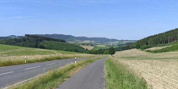 Blick von Ebbinghof Richtung Felbecke