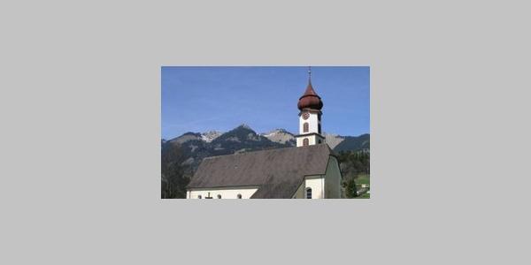 Ludesch, Katholische Pfarrkirche Heilgier Sebastian mit Friedhof 1