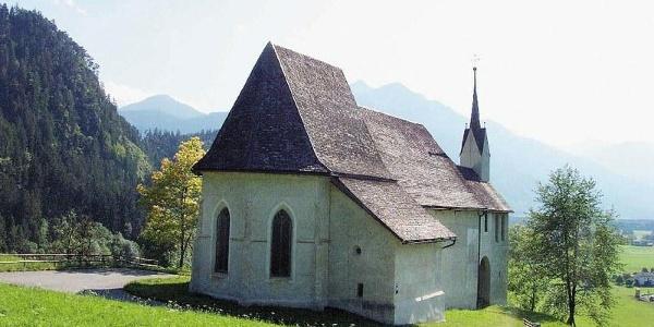 Ludesch, Alte Pfarrkirche Heiliger Martin mit ehemaligem Kirchhof
