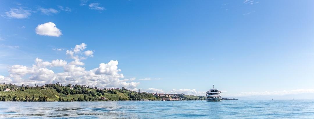 Ausflugsschiff auf dem Bodensee