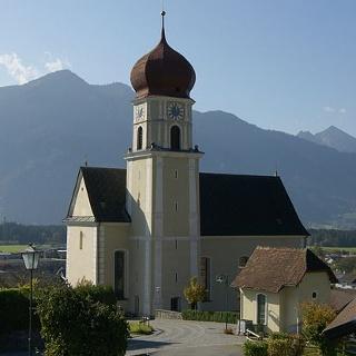 Thüringen, Katholische Pfarrkirche Heiliger Stephan mit Friedhof 1