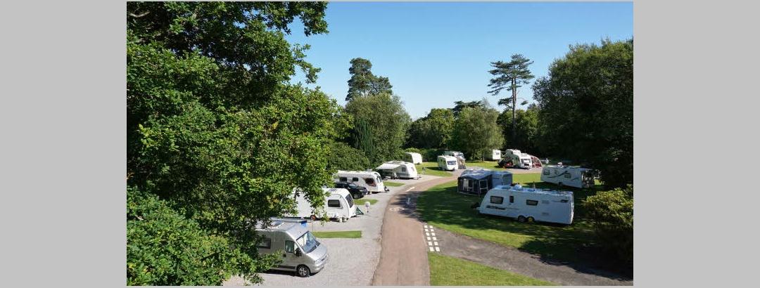Battle Normanhurst Court Caravan Club Site