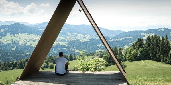 Ausblick Doren Hochstadel