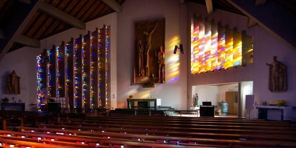 Vandans, Katholische Pfarrkirche Neue Pfarrkirche Heiliger Johannes der Täufer