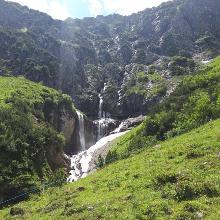 Blick zwischen Unterer und Oberer Alpschellaalpe