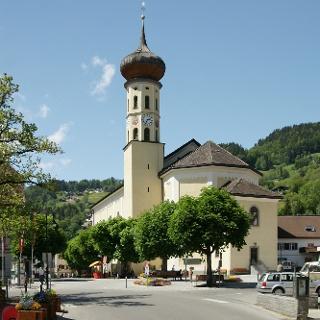 Schruns, Katholische Pfarrkirche Heiliger Jodok 2