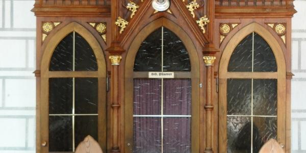 Silbertal, Katholische Pfarrkirche Heilige Josef und Nikolaus mit Friedhof 2
