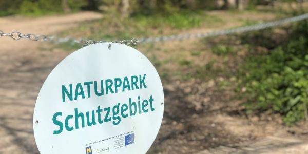Naturparkeingang, Naturparkzentrum