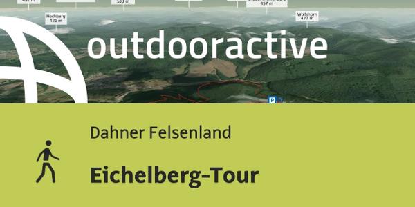Wanderung im Dahner Felsenland: Eichelberg-Tour