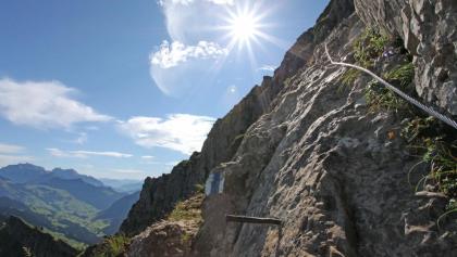 Der Speer Kletterweg Kaltbrunn.