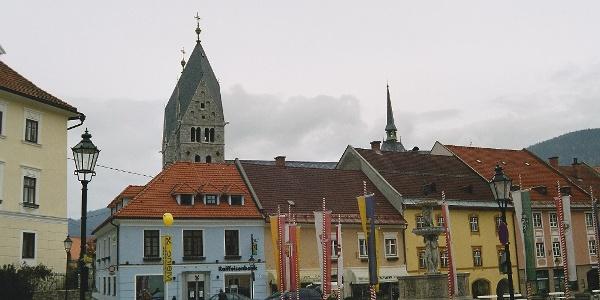Friesach, Hauptplatz