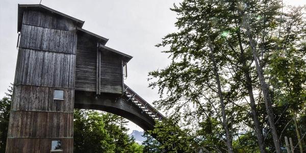 Der Turm der großen Schanze am Kälberstein