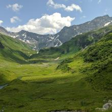 Ausblick in den Talschluss des Hollersbachtals