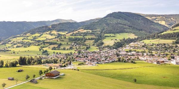 Ausblick auf Piesendorf