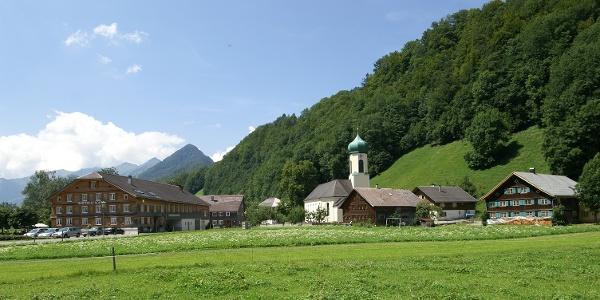 Schnepfau, Katholische Pfarrkirche Heiliger Wolfgang 2
