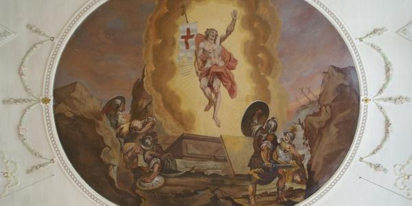 Schoppernau, Katholische Pfarrkirche Heiliger Philippus und Heiliger Jakobus 4