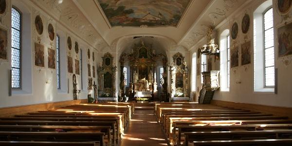 Schwarzenberg, Katholische Pfarrkirche Heiligste Dreifaltigkeit 3
