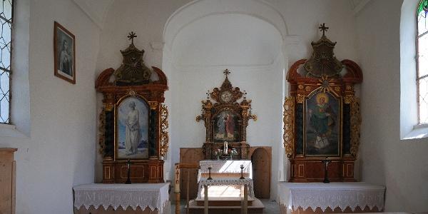 Warth, Katholische Pfarrkirche Heiliger Jakobus 3