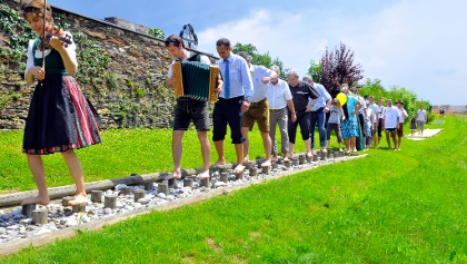 Barfußwandern in Wenigzell
