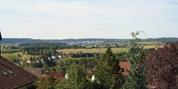 Blick von Aach Richtung Freudenstadt