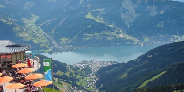 Ausblick von der Schmittenhöhe