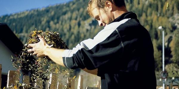 Die pure Freude an Geschmack und Gesundheit. Die Kräutergärten Wipptal mit ihren würzigen Köstlichkeiten.