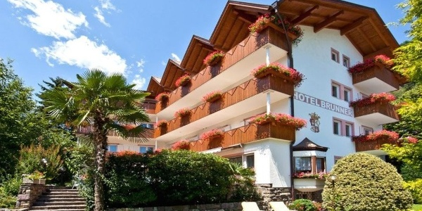 A little out of the center in perfect tranquility: Hotel Brunner in Meran - Merano.