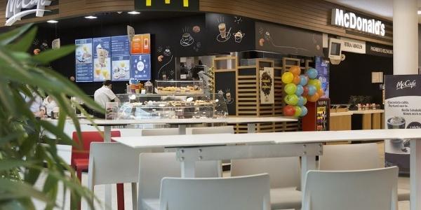 Nehmt euch eine Auszeit, im Mc Donald's im Twenty Shopping Center in Bozen!