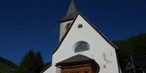 Die Kirche in Tesselberg.