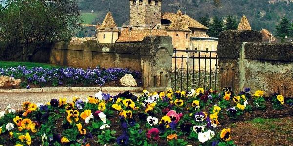 The Castel Mareccio castle in Bolzano.