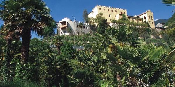 The Castel di Nova castle known for its gardens.