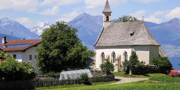 St. Johann in Mellaun, ein schönes Beispiel der Brixner Spätgotik