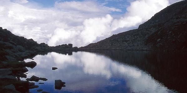 Der Totensee auf den Villanderer Almen
