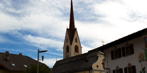 Pfarrkirche zur heiligen Margharet in Welsberg.